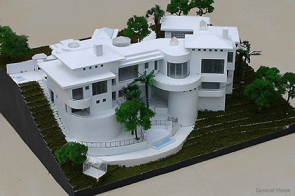 Architectural model san dimas home general home for Architecture house models