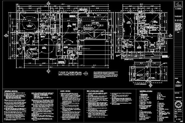 Autocad Drafting Rosmead Homes General Home