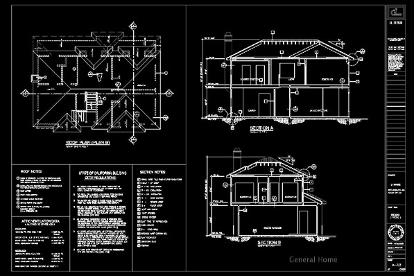 how to make a roof plan in autocad